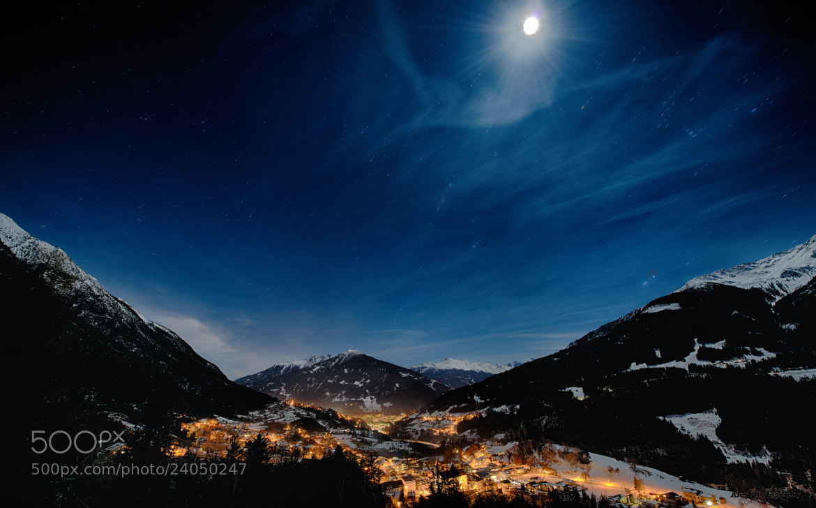 Photograph Moonlight by Alex Rinner on 500px
