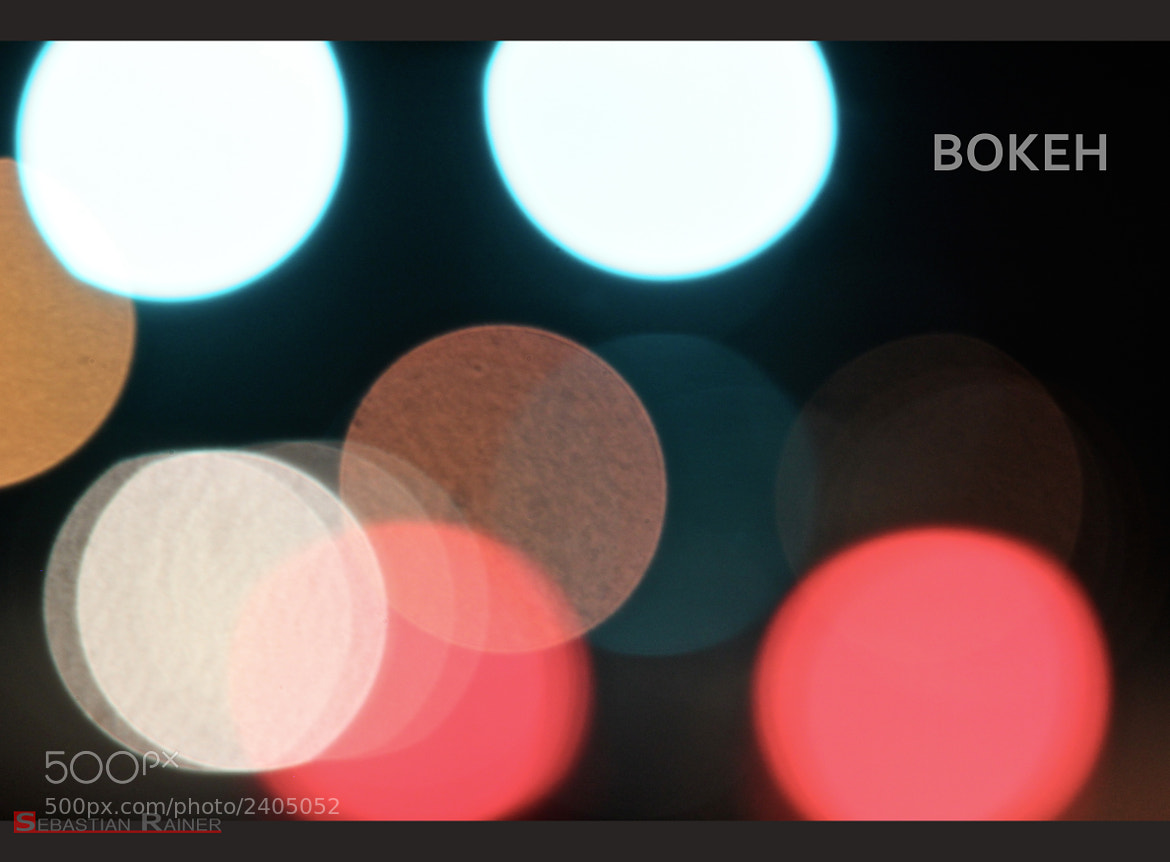 Photograph Bokeh by Sebastian Rainer on 500px