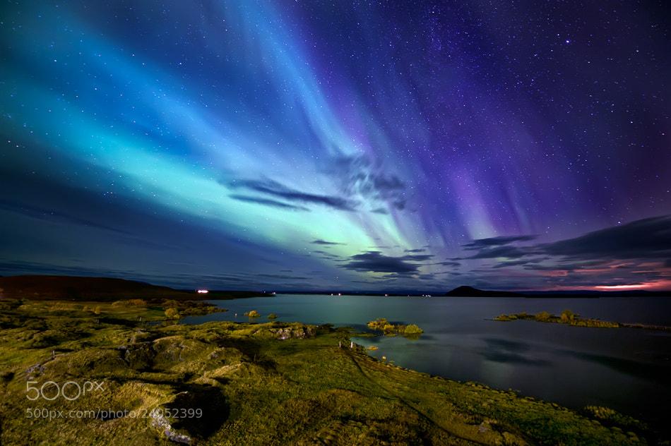 Photograph Magic Aurora by Luca Liloni on 500px