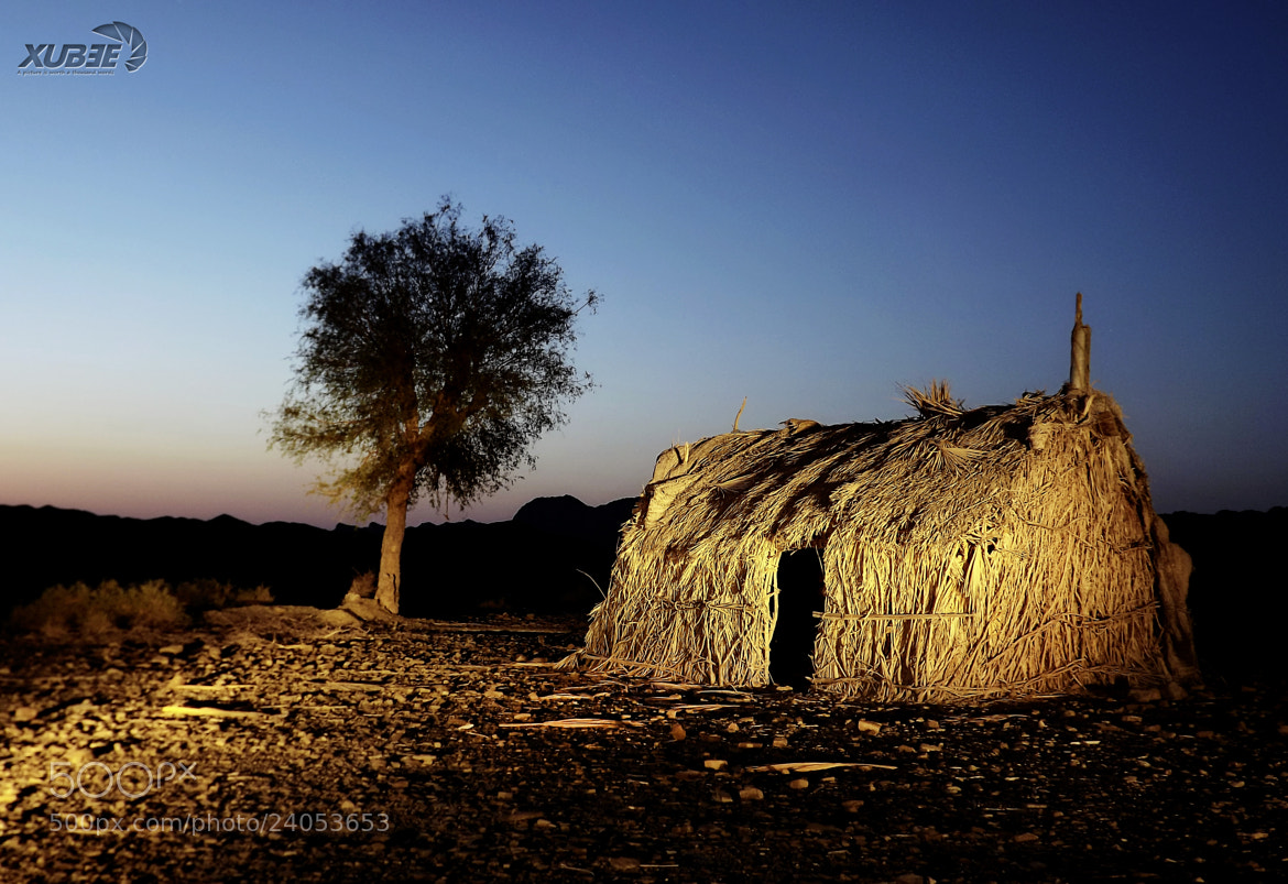 Photograph Light painted Hut by Estaal Baloch on 500px