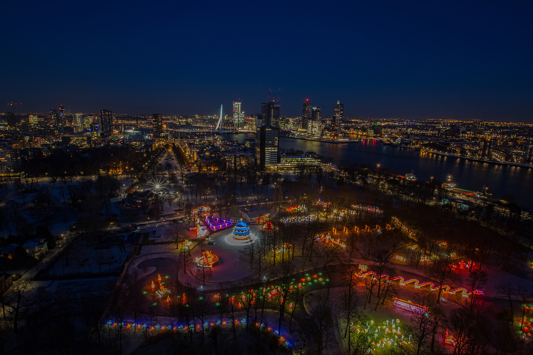 Photograph China Light from Euromast by René Ladenius on 500px
