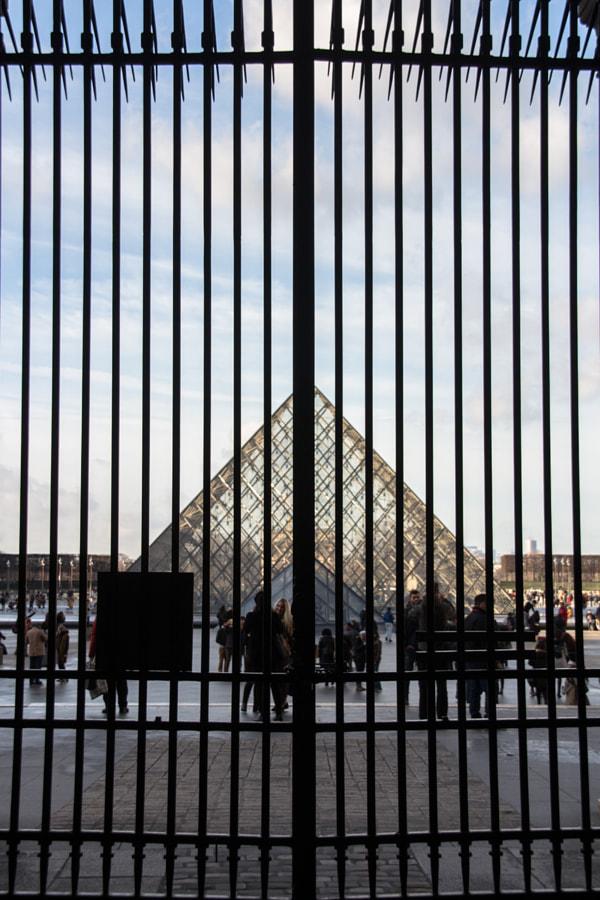 En cage (In a cage) de Christine Druesne sur 500px.com