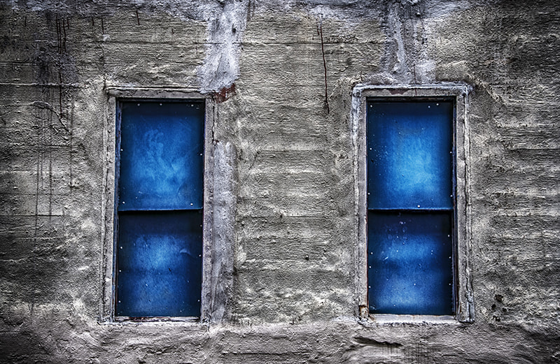 Photograph Blue Window by andrew morgan on 500px