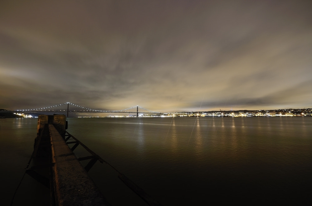 Photograph Tejo by night... by Rui Catarino on 500px