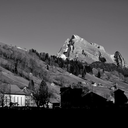 A day in the mountains at B & W