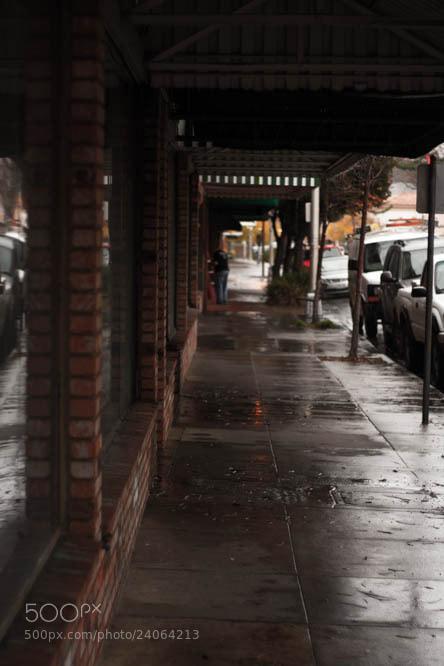 Photograph rainy walk by Mathias J Sennheiser on 500px