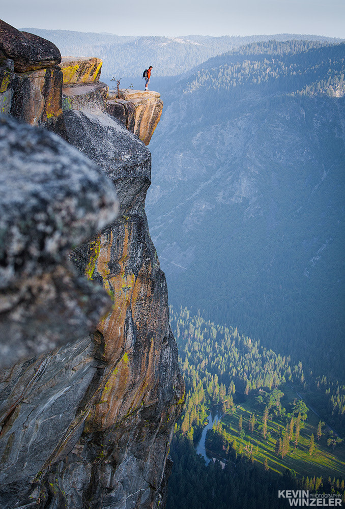 Photograph Yosemite National Park - Feeling Small by KevinWinzeler.com  ~ sports, lifestyle on 500px