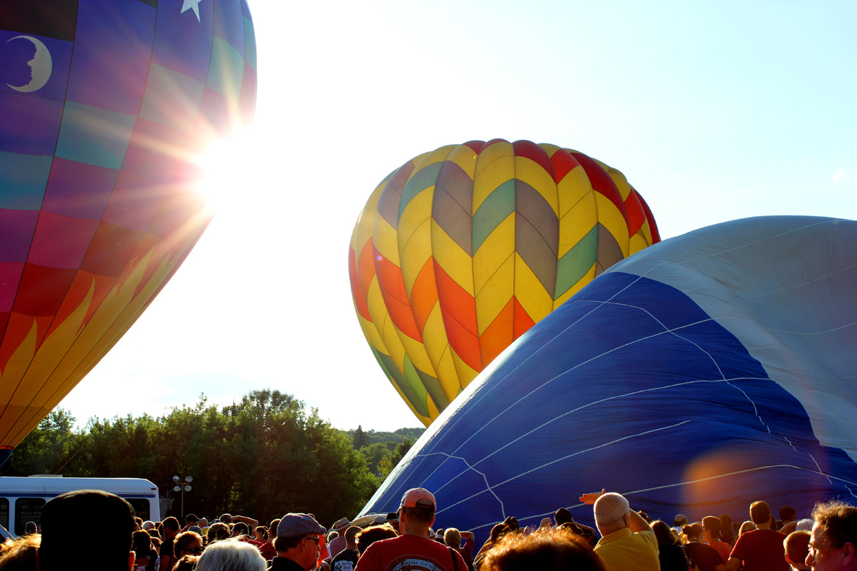 Photograph Hot Air Balloons by Zach Miller on 500px