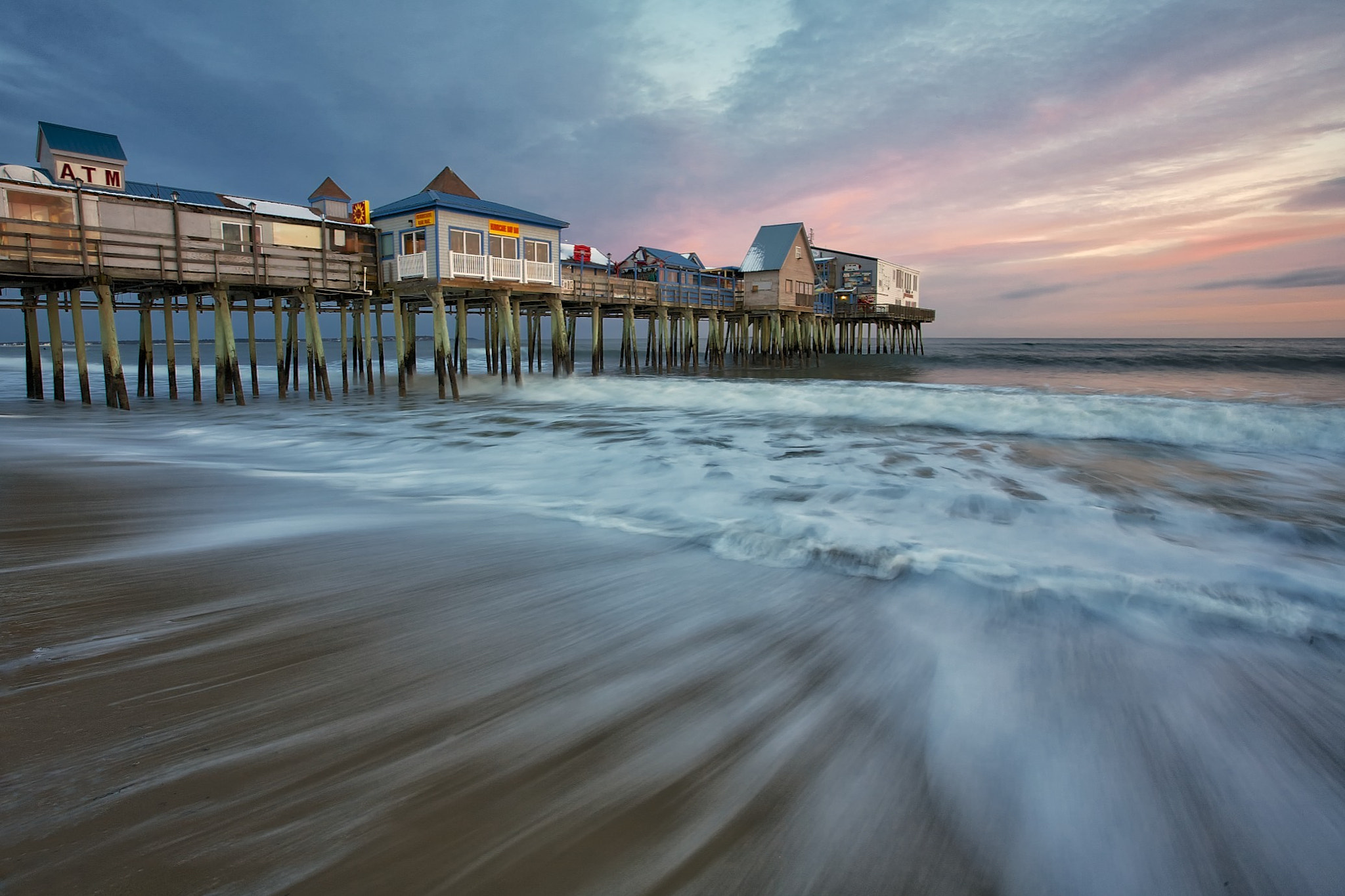 Photograph The pier at Old Orchard Beach by Don Seymour on 500px