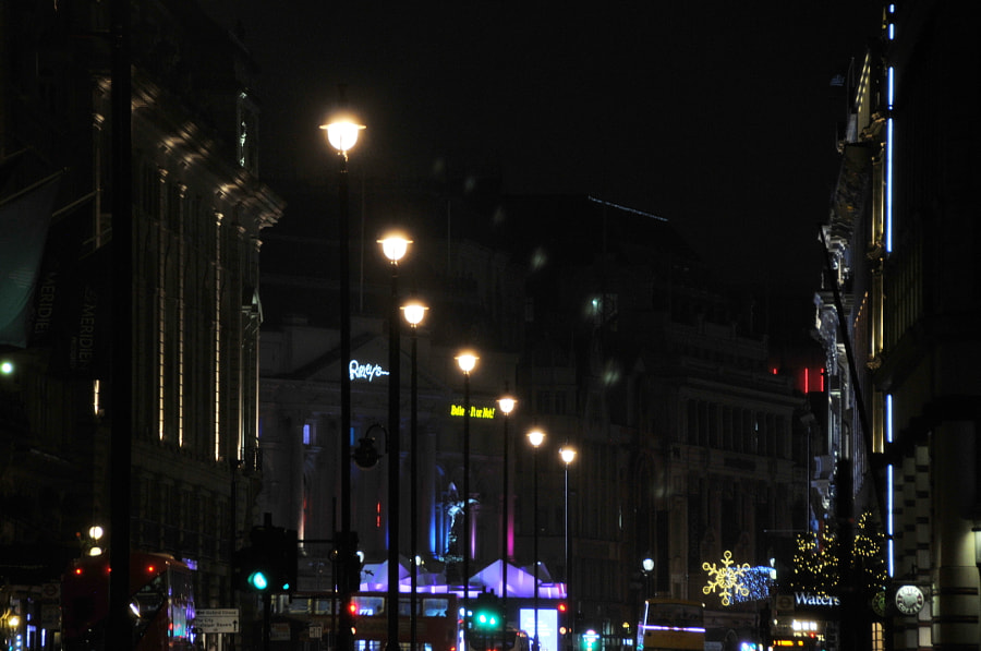 Piccadilly,  London by Sandra  on 500px.com