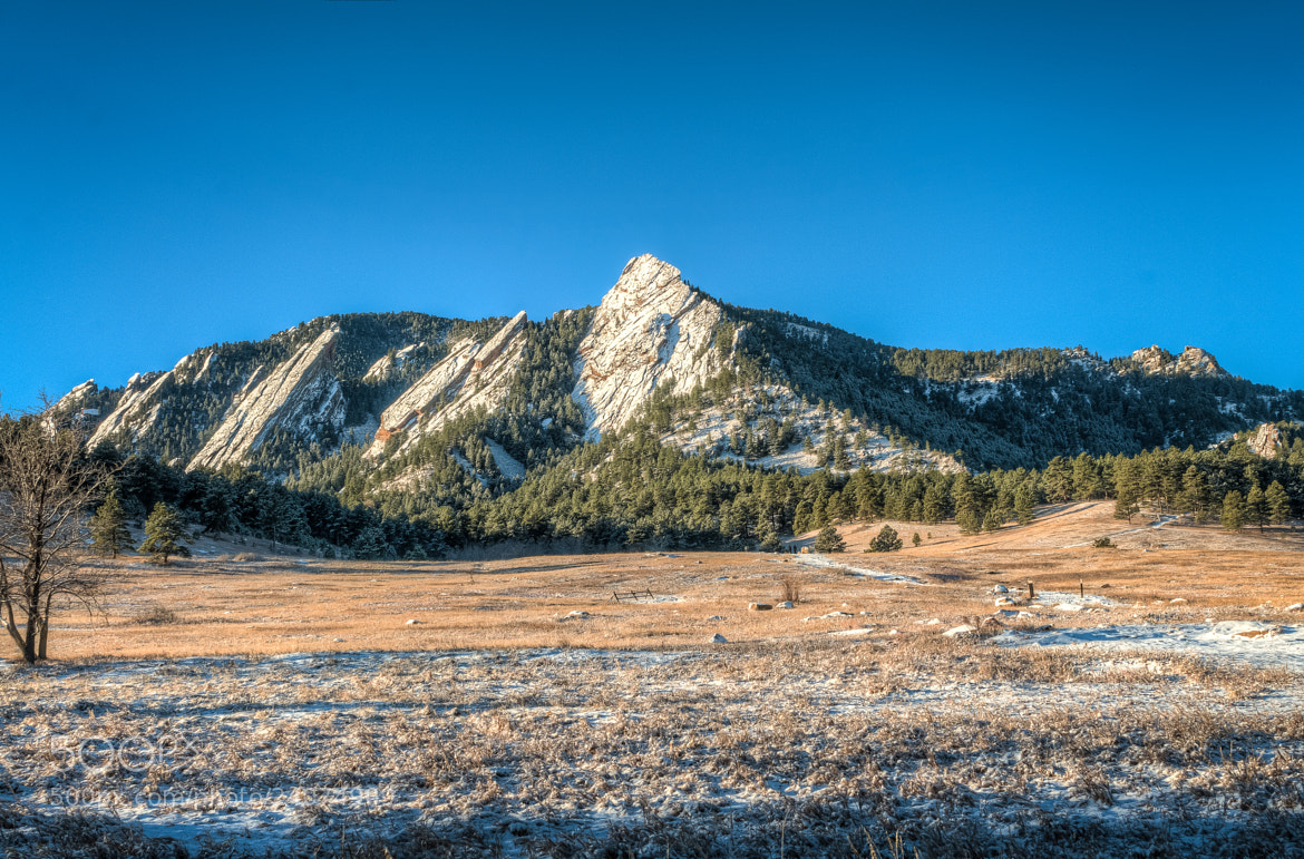 Photograph Boulder Flatirons by Crystal Amaya on 500px