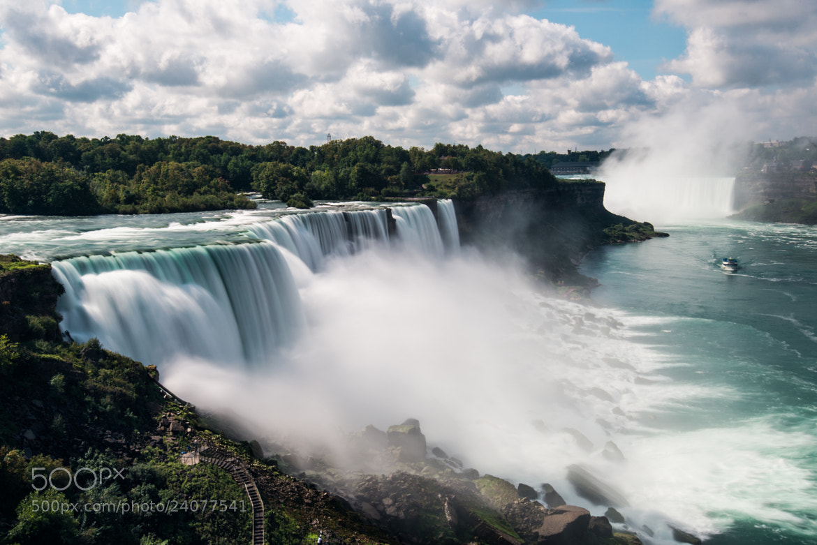 Photograph Niagara Falls by Mike Kolesnikov on 500px