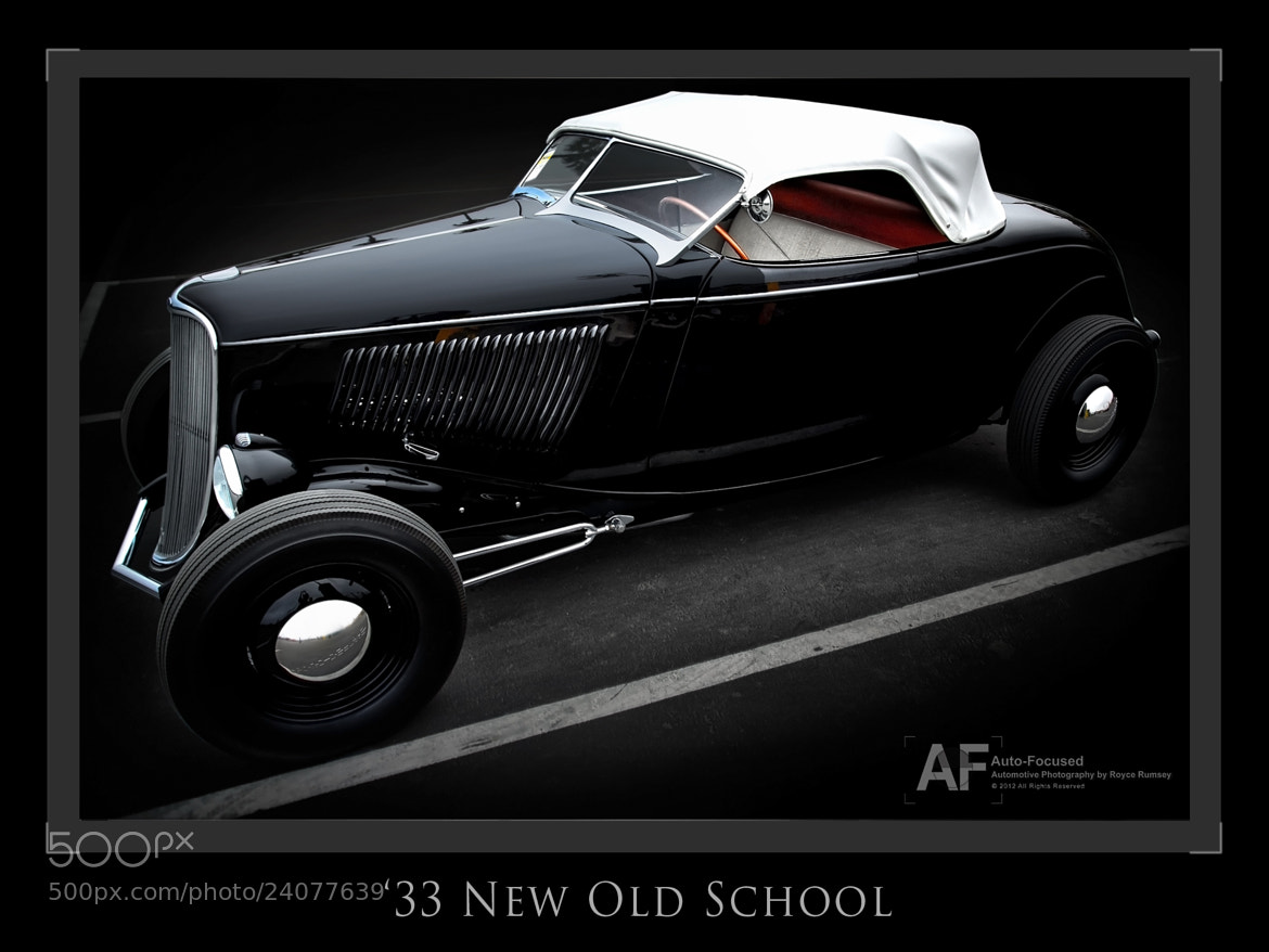 Photograph New Old School '33 by Royce Rumsey on 500px