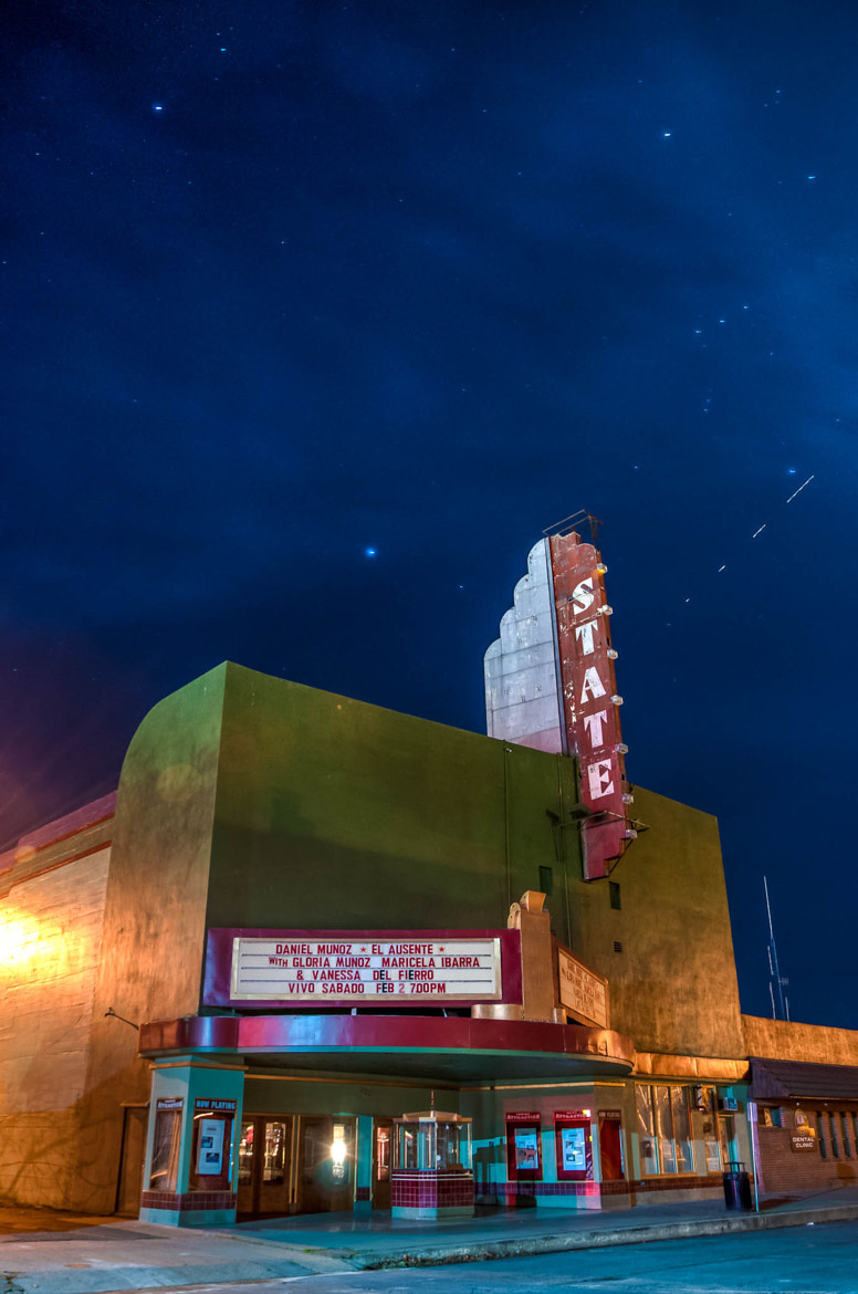 Photograph Double Take (State Theater Red Bluff) by Eric Leslie on 500px