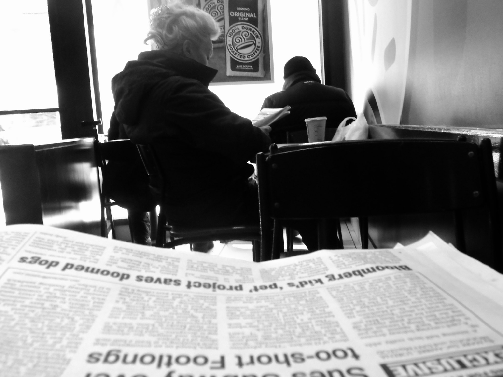 Photograph coffee & morning paper by robert theb on 500px