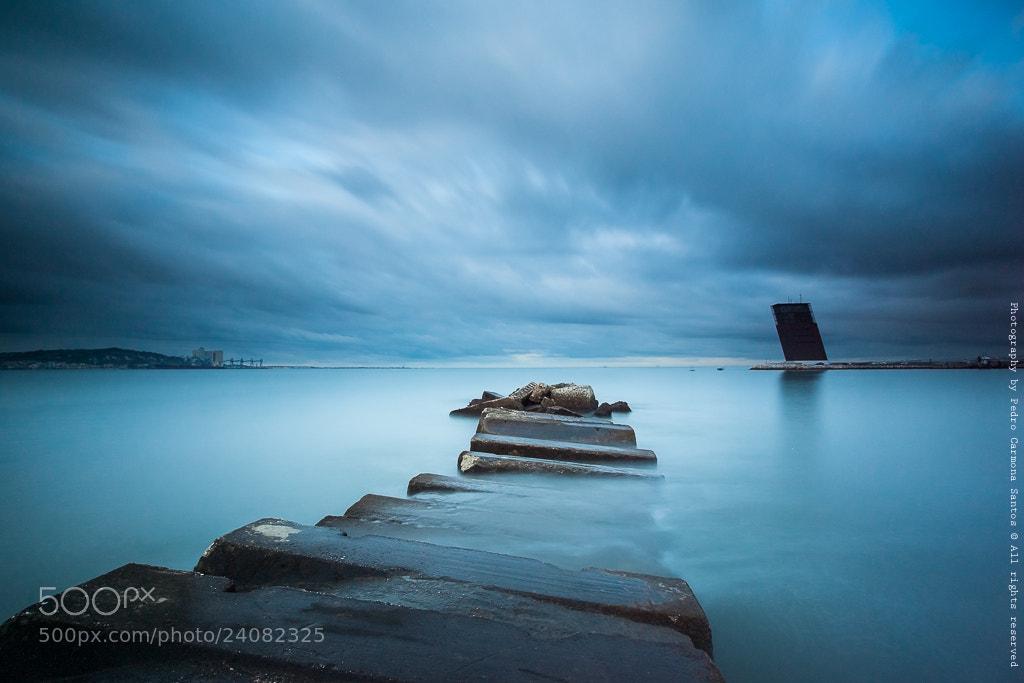 Photograph Blue by Pedro Carmona Santos on 500px