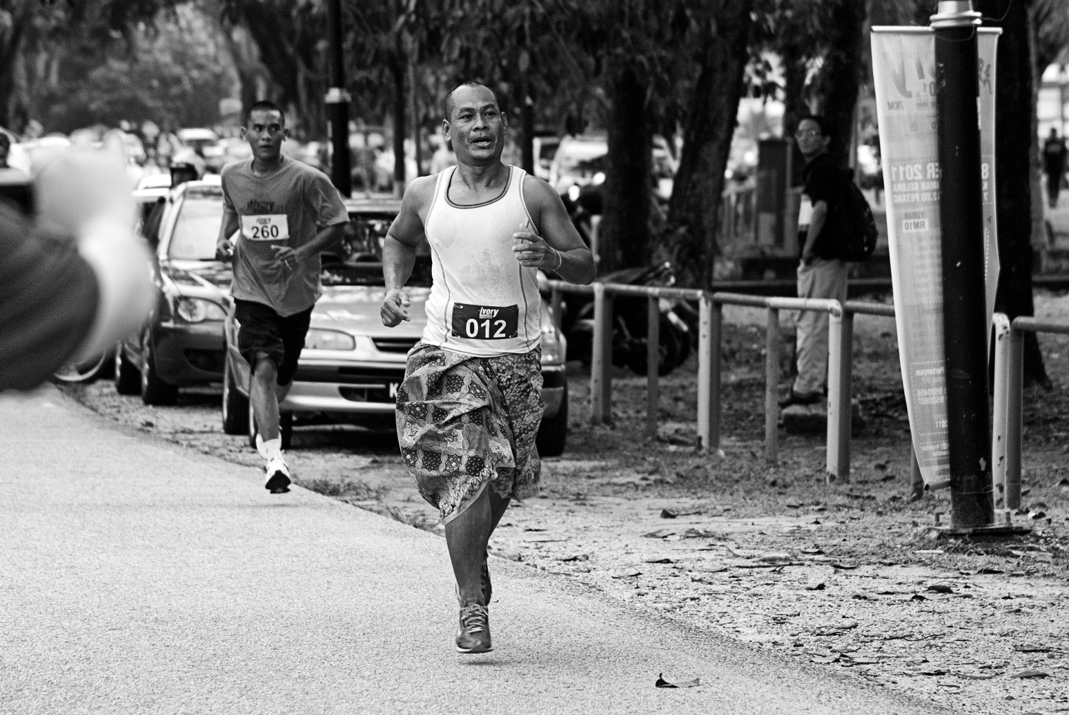 Photograph Running Sarong by Kairul Abas on 500px