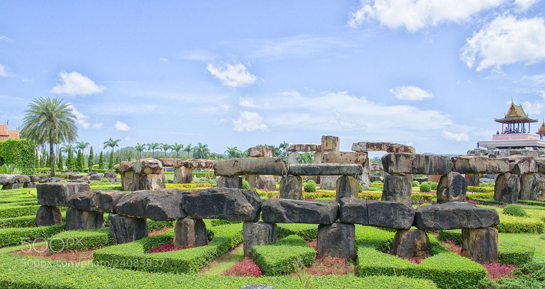 Photograph Stone , Thailand by iPsener  on 500px
