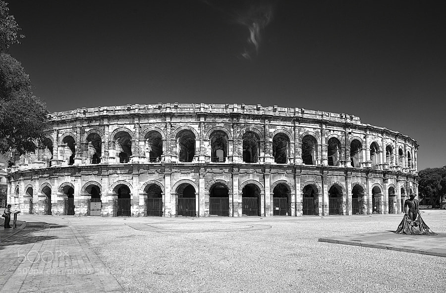 Photograph Nimes by mauro maione on 500px