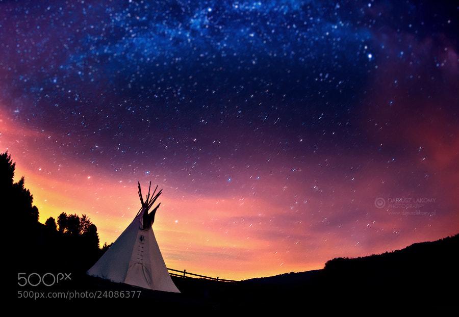 Photograph Magical night by Dariusz Łakomy on 500px