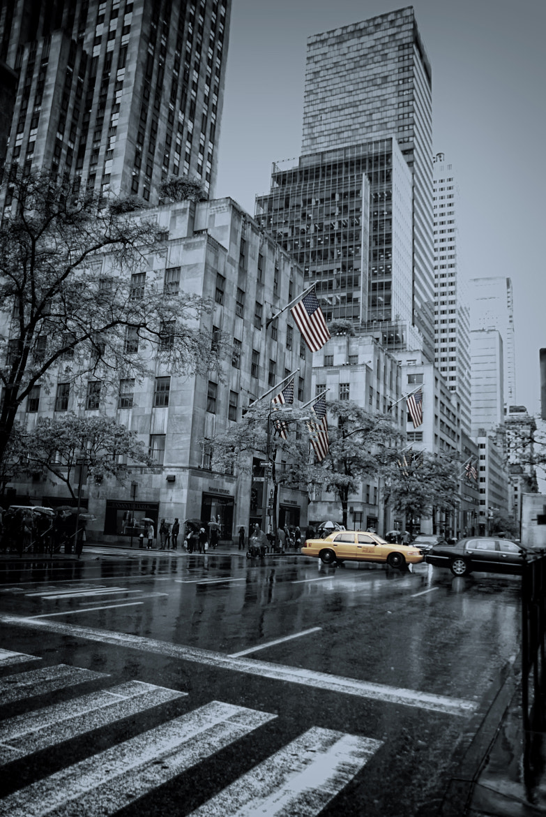 Photograph rainy 5th Ave by Joachim G.  Pinkawa on 500px