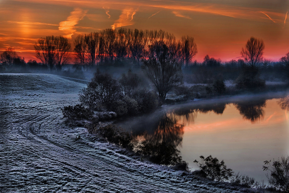 Photograph On a frosty dawn (Fekete-körös) by Marcsi Kesjarne on 500px
