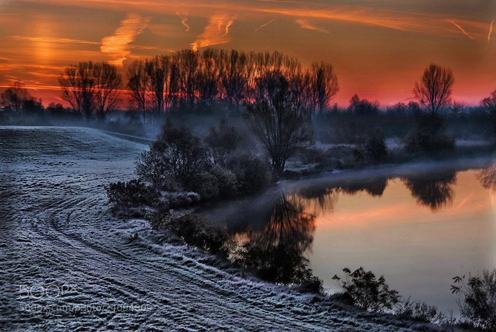 Photograph On a frosty dawn (Fekete-körös) by Marcsi Kesjarne on 500px