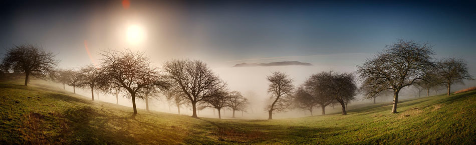 Photograph Hill in the mist by Nigel Harniman on 500px