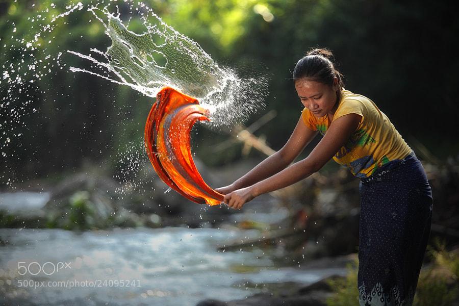 Photograph just washing by taufik sudjatnika on 500px