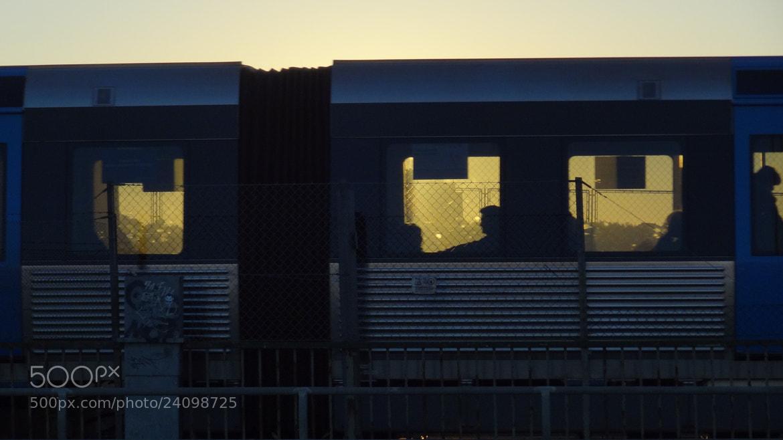 Photograph Sunset train. by Robert Ciodyk on 500px