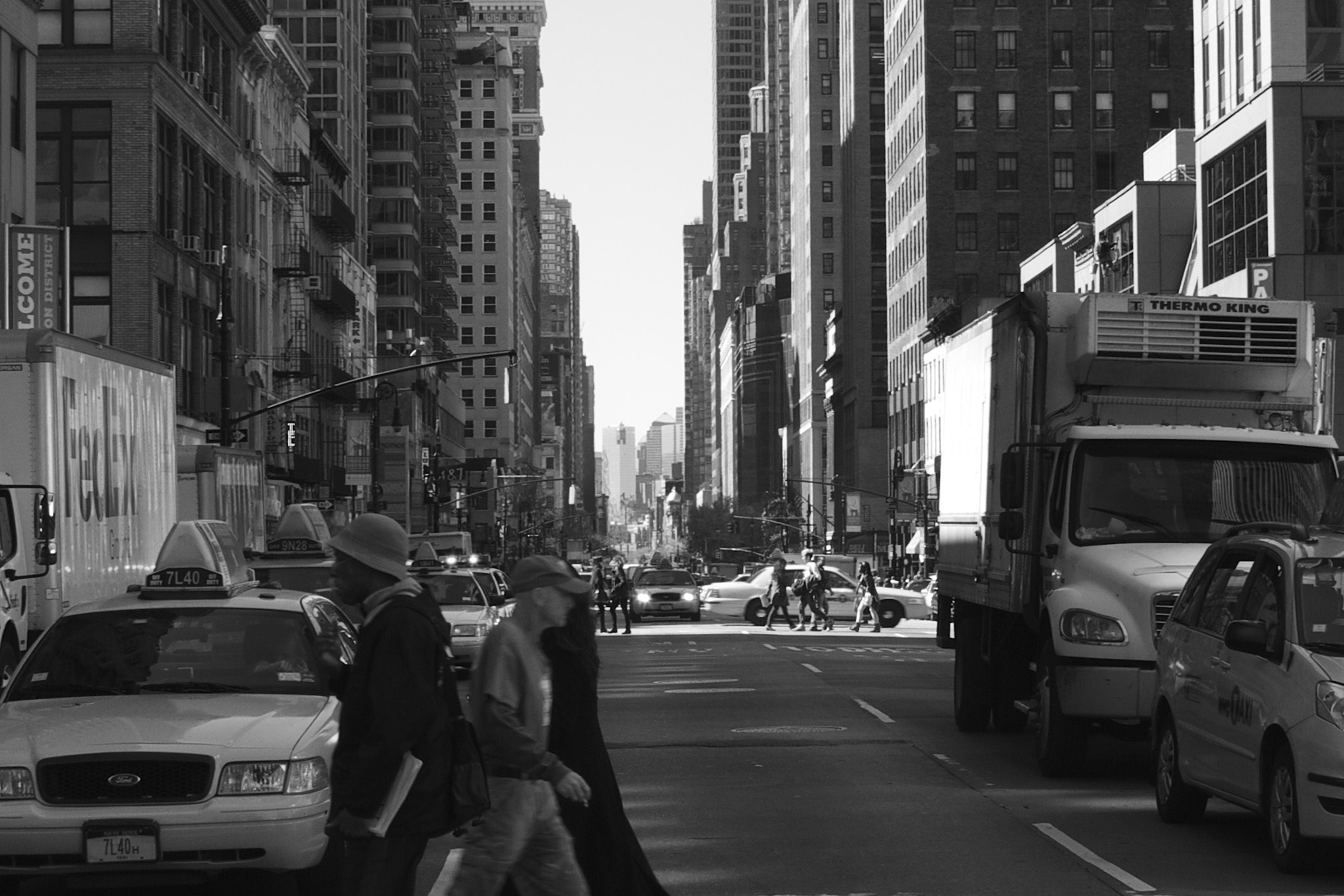 Photograph playing in traffic (NYC edition) by Liam Philley on 500px