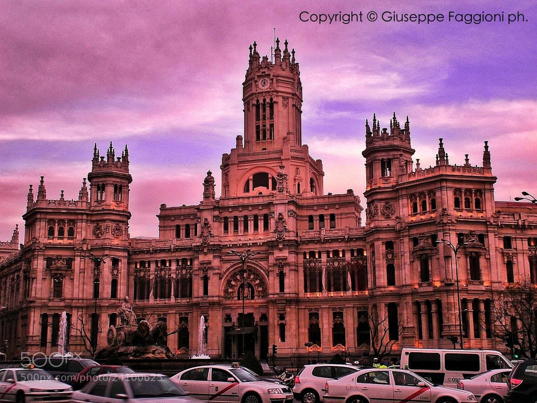 Photograph Purple Madrid by Giuseppe  Faggioni on 500px