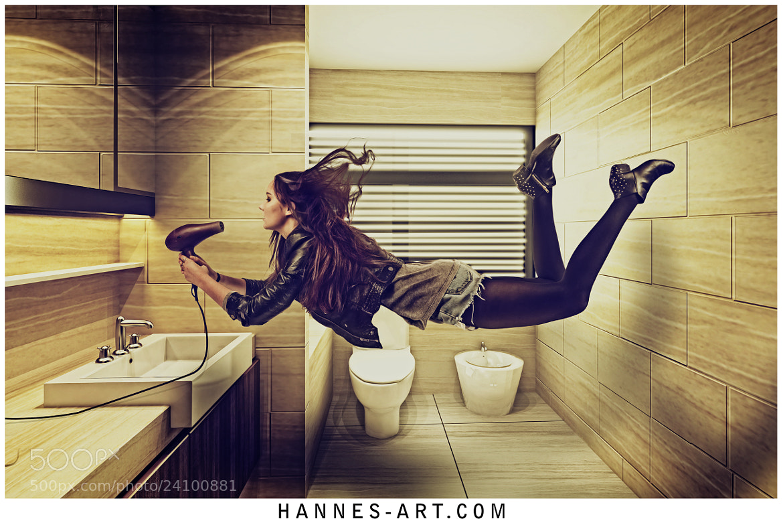 Photograph Bathroom Levitation by Hannes Höchsmann on 500px