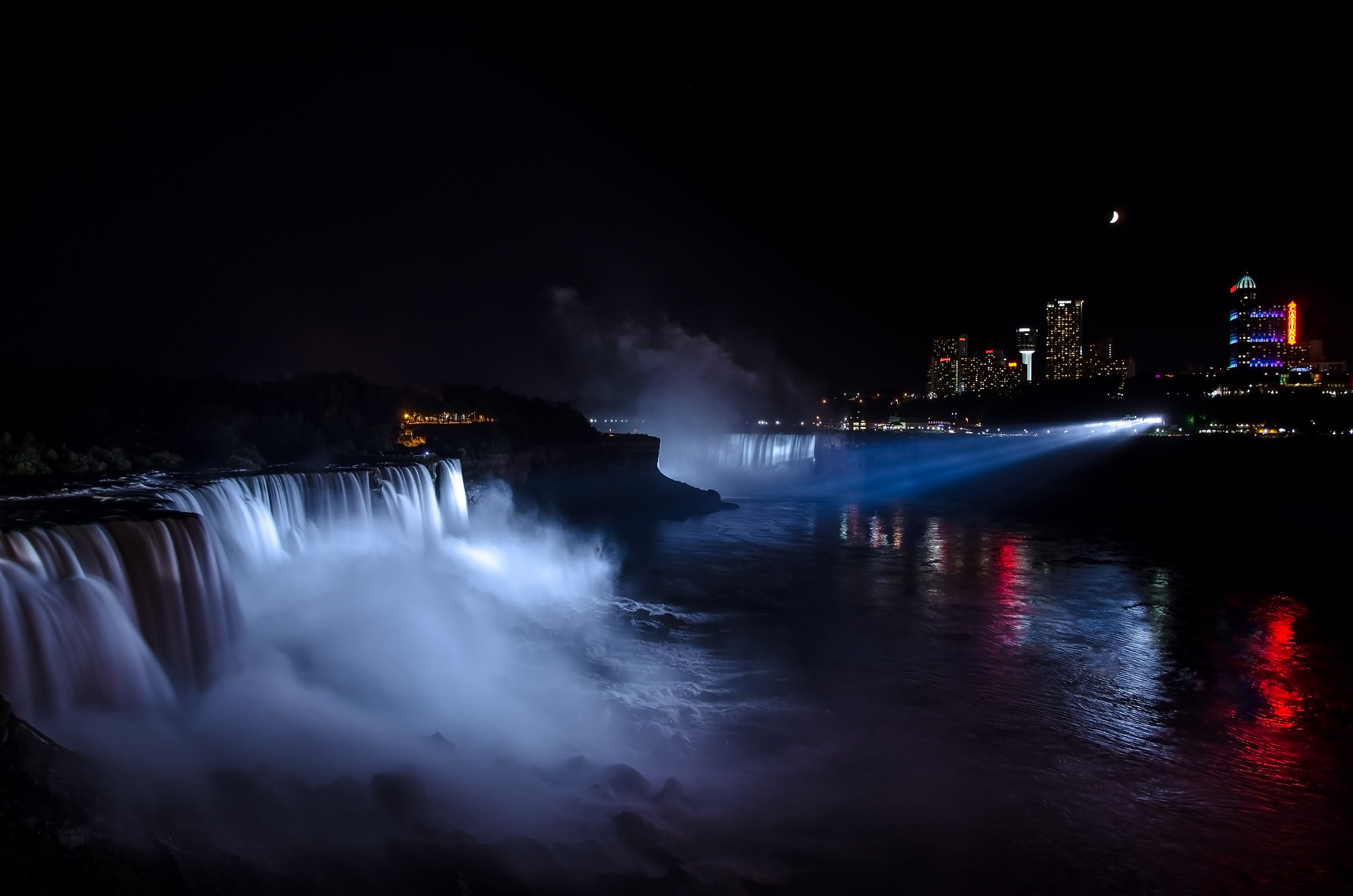 Photograph Niagara at Night by Kenny Alevxey on 500px