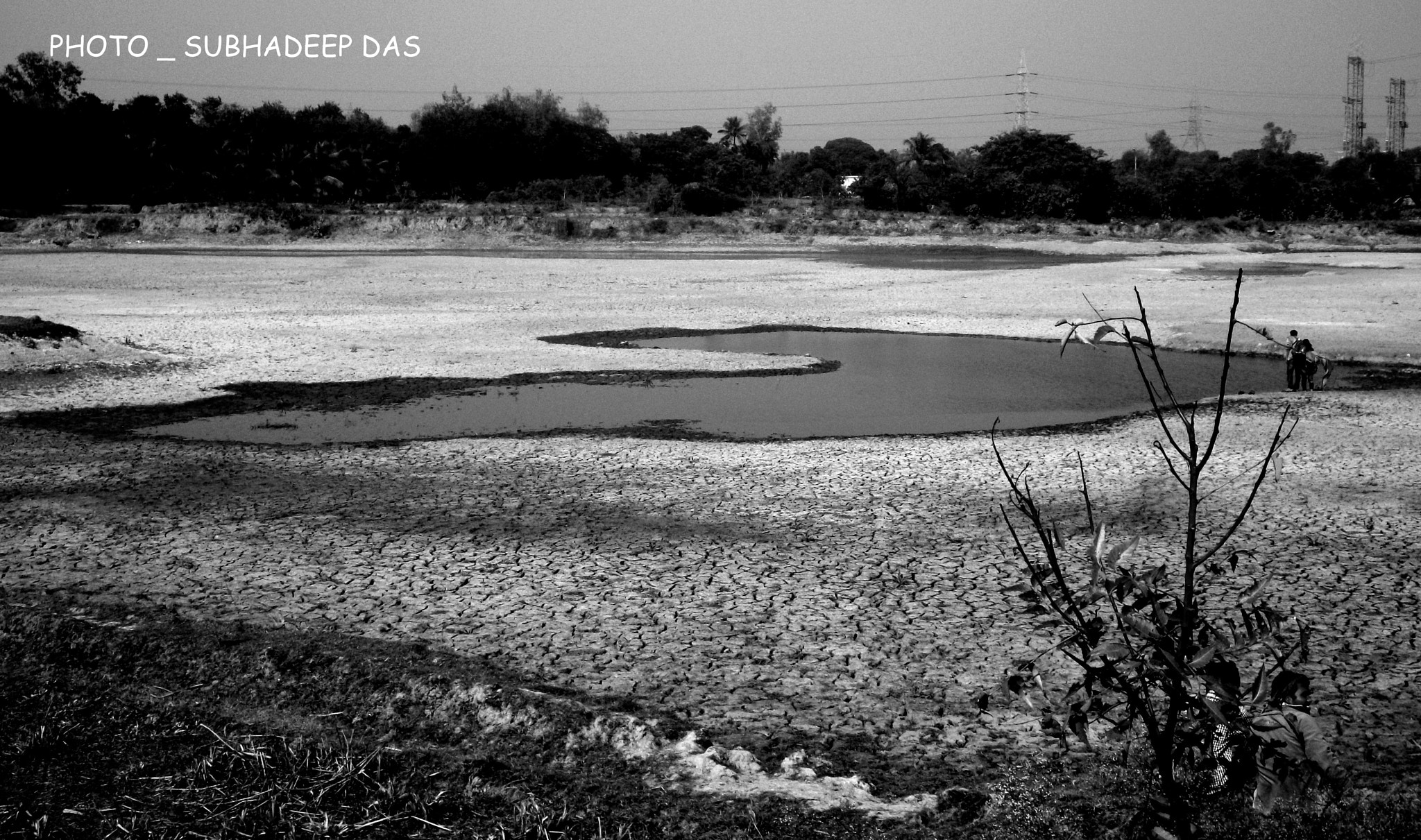 Photograph ROUGH AND DRY LAND ( B&W) by SUBHA   on 500px