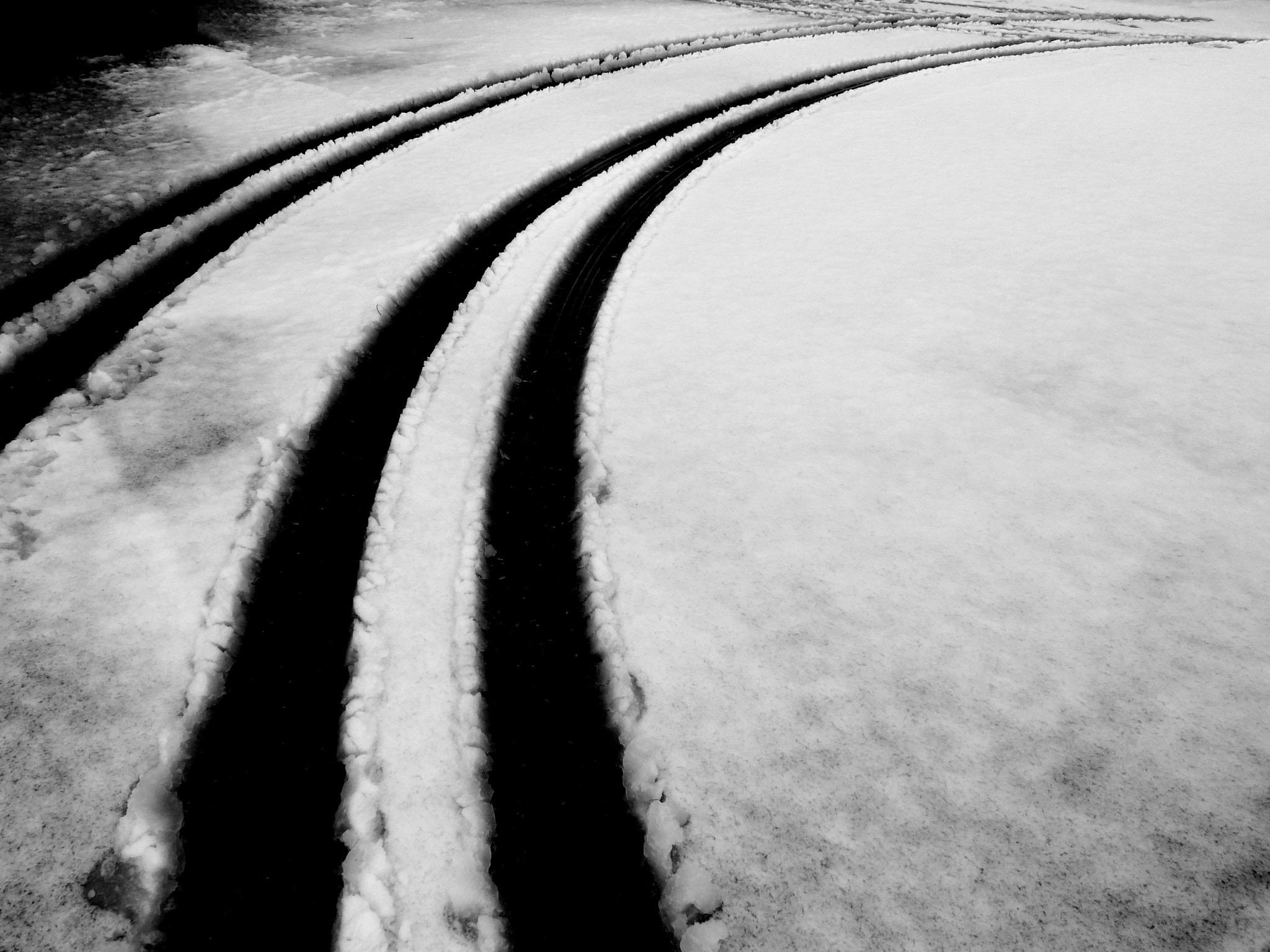 Photograph Way in the snow by Florence Guichard on 500px