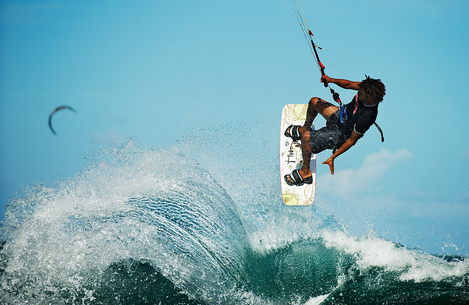 Photograph Domincan Kite surfing by Howard Oates on 500px