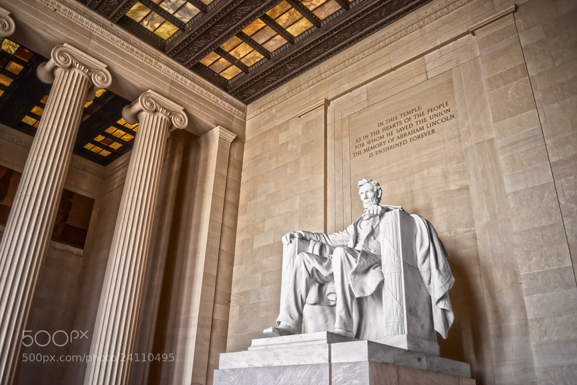 Photograph Lincoln Memorial by Monico Havier on 500px