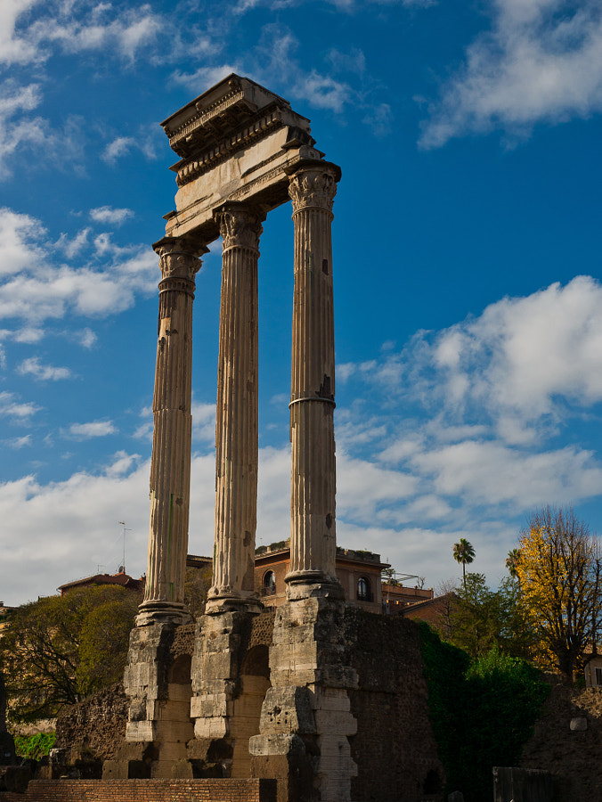 Temple of Castor and Pollux by Des Paroz on 500px.com