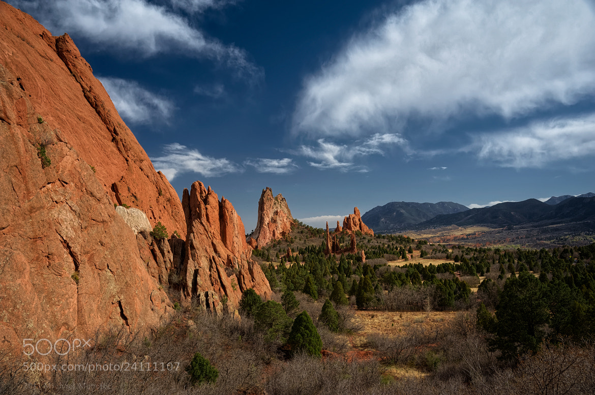 Photograph From Garden of the Gods to Cheyenne Mountain by Michael Menefee on 500px