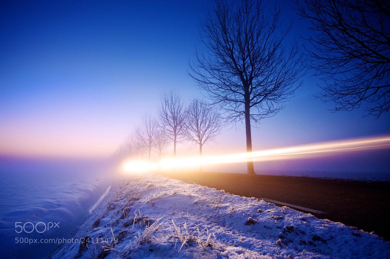 Photograph Blue Rush by Martijn van der Nat on 500px