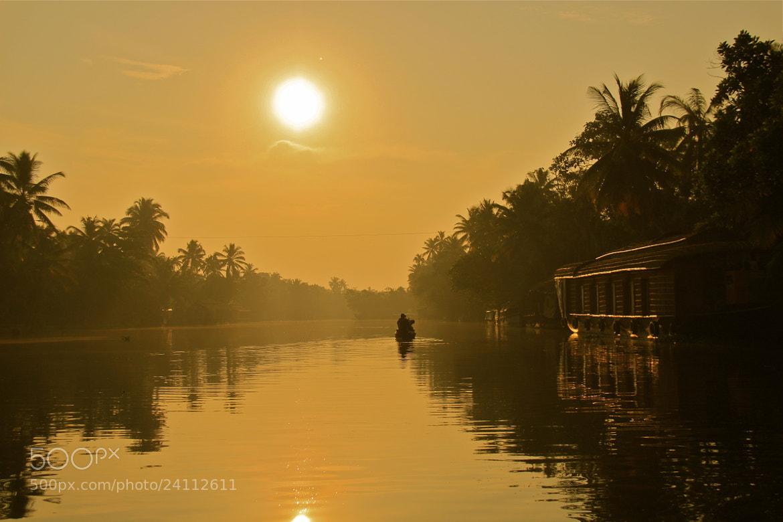 Photograph Backwater cruise at Sunrise by Karthik Gellia on 500px