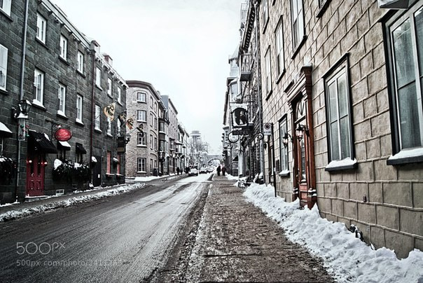 Photograph Old Quebec by Anastasia Kot on 500px