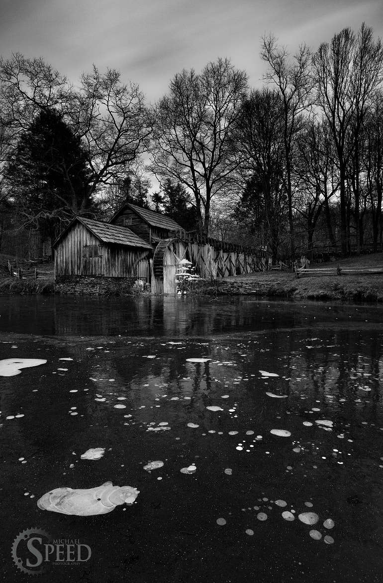 Photograph An Icey Mabry Mill by Michael Speed on 500px
