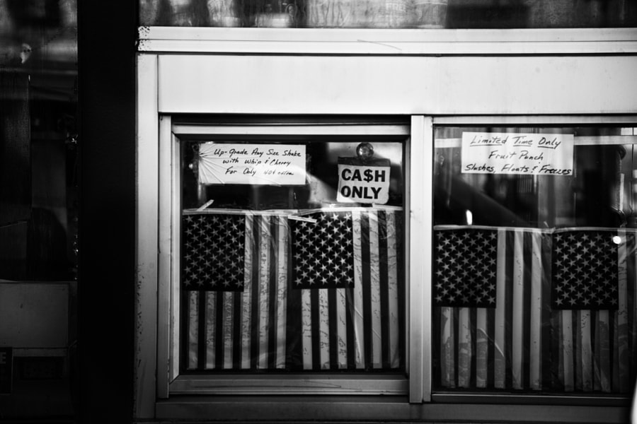Cash Only by Christopher J Stacey on 500px.com