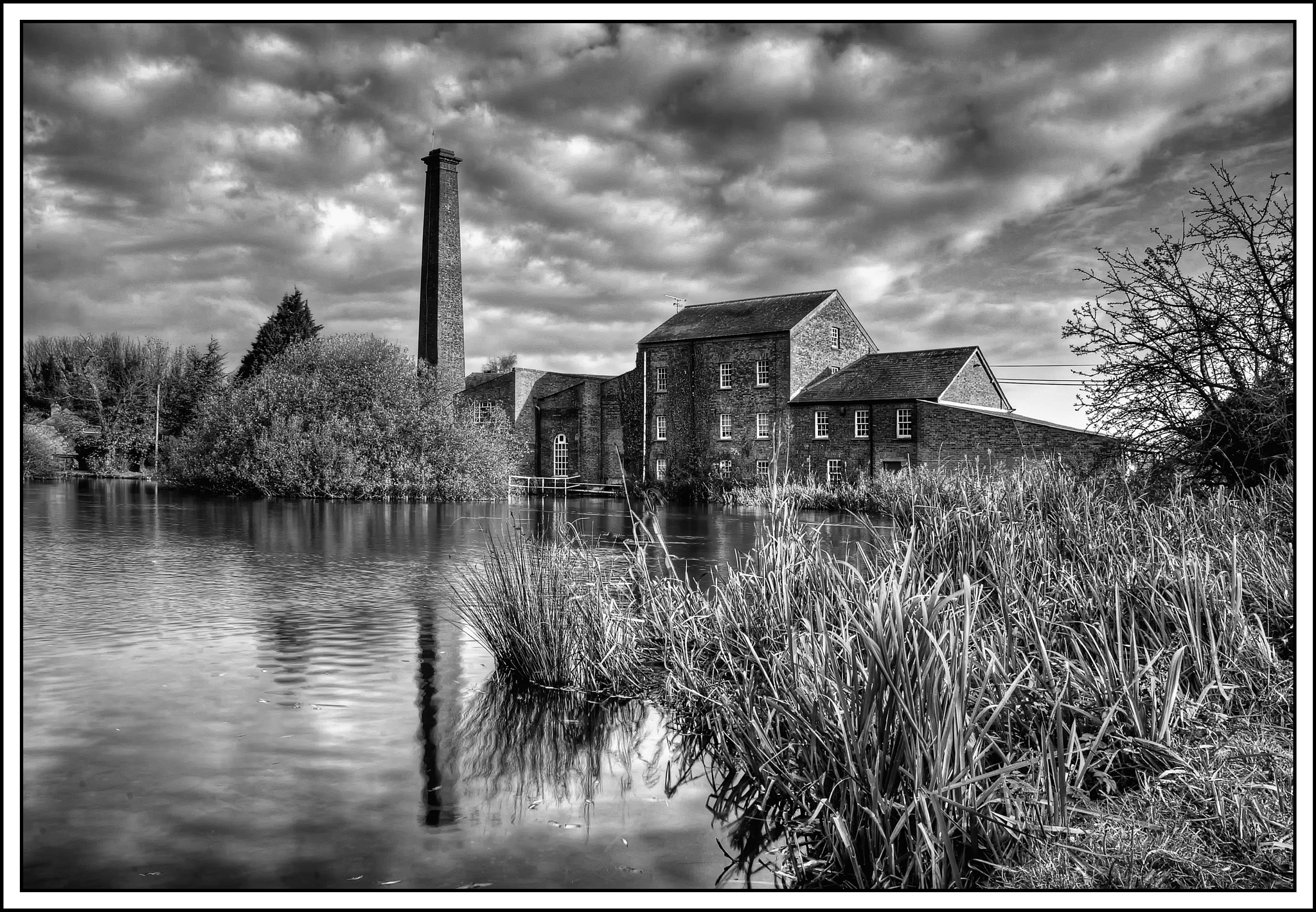 Photograph Tonge Mill (B&W) by Steve Clancy on 500px