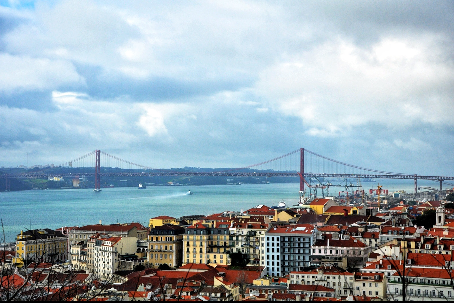 Photograph 25th of April Bridge by Elif Energin on 500px