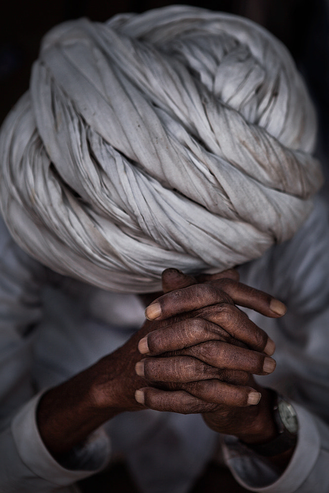 Photograph The man with white turban by Ali Alsumayin on 500px