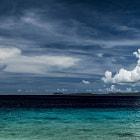 A daylight view from Te-amo Beach. Bonaire.