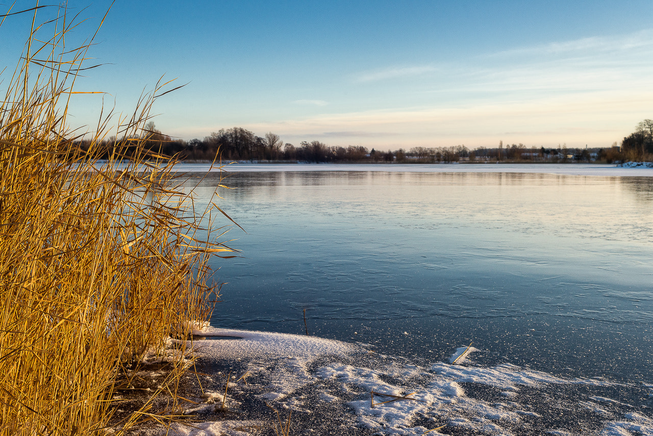 Photograph Winter lake by Johnny Hansen on 500px